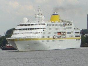 Kreuzfahrtschiff MS Hamburg