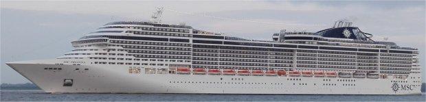 Kreuzfahrtschiff MSC Preziosa