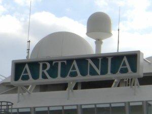 Kreuzfahrtschiff Artania
