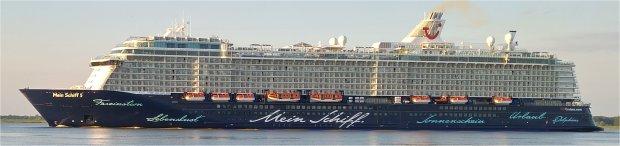 Mein Schiff 5 ab Kiel