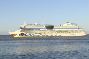 AIDAluna auf Ostseekreuzfahrt